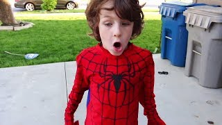The Spider-Man Web Wheelie Car Is Missing! - Beaherokids