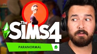 Our first pack of 2021, The Sims 4 Paranormal Stuff Pack (Reaction)