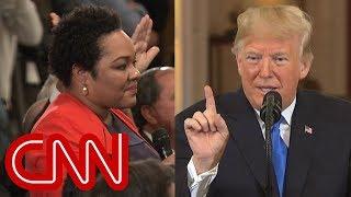 Trump calls reporter's question 'racist'