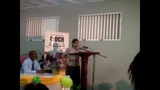 Lisa Hanna Tells Her Opinion on Child Abuse at the Irwin Primary School