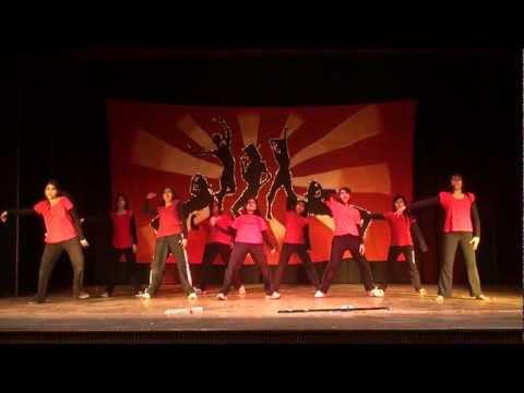 iit delhi girls dance