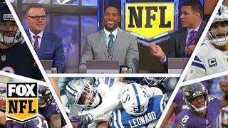 FOX NFL crew break down Week 15 Cowboys, Ravens & Bears | FOX NFL