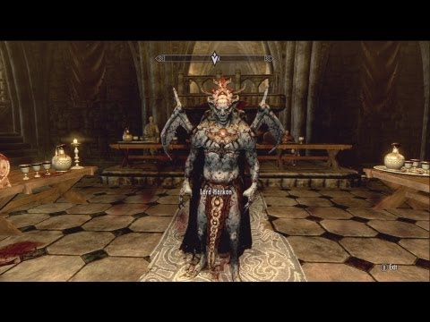 Skyrim Werewolf Lord Vs Vampire Lord