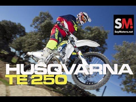 Prueba Husqvarna TE 250 2016