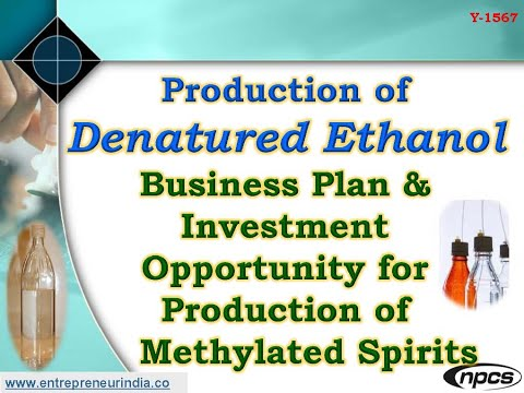 Why Production of Denatured Ethanol is necessary?