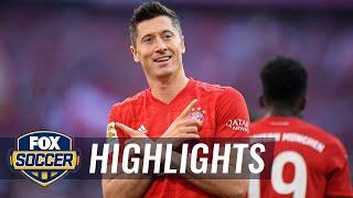 Bayern clinches record eighth-straight Bundesliga title   2020 Bundesliga Highlights