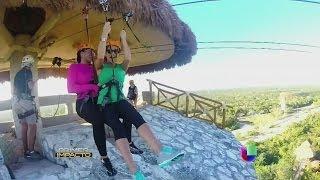 Bárbara Bermudo y Pamela Silva-Conde vivieron una aventura de 'Impacto' en la Riviera Maya