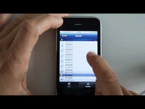 The new Simmex SAP Business One iPhone App