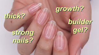 how i maintain/grow my nails!
