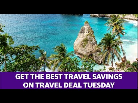 Tips to get the best deals on Travel Deal Tuesday