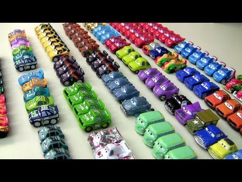 Complete Micro Drifters Collection 52 Cars NEW Disney Pixar Car-toys Entire Display Checklist Cars 2 - Smashpipe Entertainment