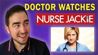 Real Doctor Reacts to NURSE JACKIE | Medical Drama Review | Doctor Dan