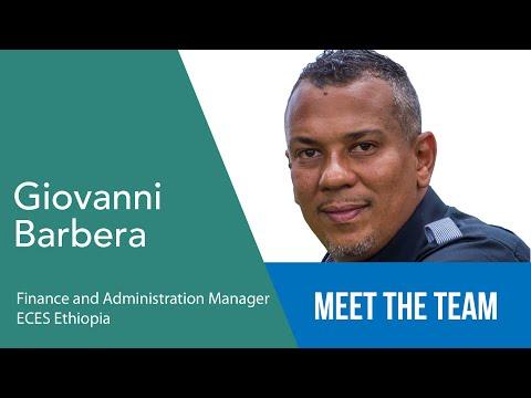 Giovanni Barbera - Finance & Administration Manager - ECES Ethiopia