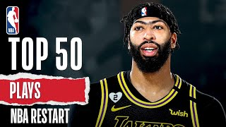 Top 50 Plays From NBA Restart!