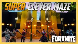 Super Clever Fortnite Creative Maze by JeffVH! Wow.   Swiftor