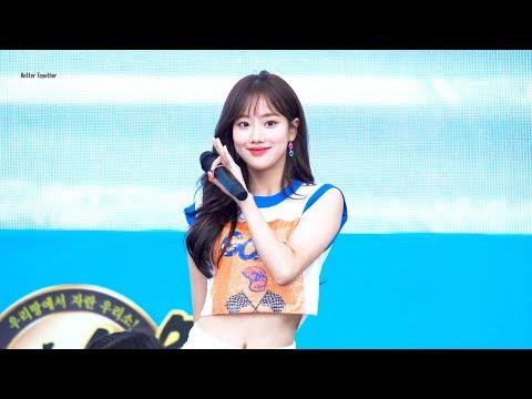 180609 에이프릴(April) 2018 육우데이 '파랑새(The Blue Bird)' 나은(NAEUN) 직캠 by 김이모 - 4K