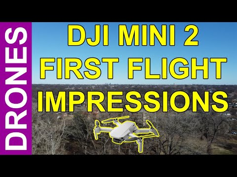 DJI Mini 2 First Flight Impressions