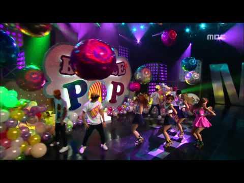 음악중심 - Hyun-ah - BUBBLE POP, 현아 - 버블 팝, Music Core 20110709