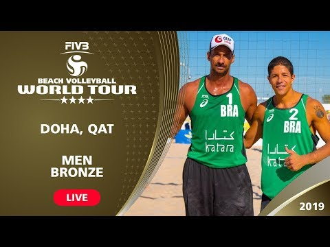 Doha 4-Star 2019 - Men Bronze - Beach Volleyball World Tour