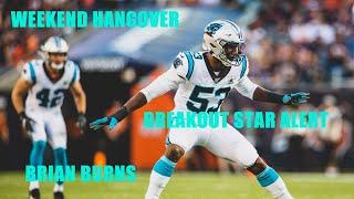 NFL Breakout Star Alert - Brian Burns DE Carolina Panthers