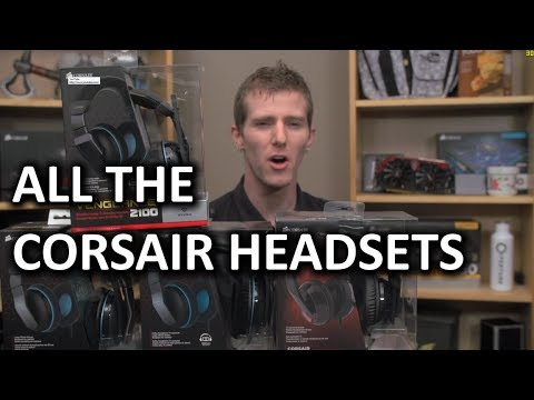 Corsair Gaming Headset Extravaganza!! - Smashpipe Tech