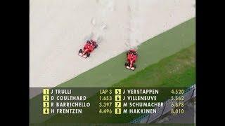 [50fps] Rain CHAOS at the 2001 Malaysian GP