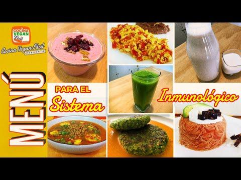Menú para fortalecer el Sistema Inmunológico - Cocina Vegan Fácil