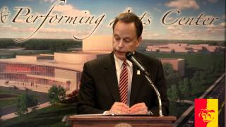 'Fine and Performing Arts Center Major Gift Announcement March 8th, 2012 (entire program)