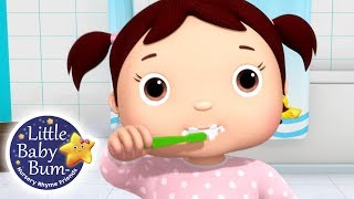 Learn How To Brush Your Teeth! (V2)   Fun Learning with Little Baby Bum   Nursery Rhymes for Kids