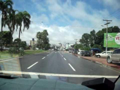Llegando a Santa Cruz de Viru viru por la banzer