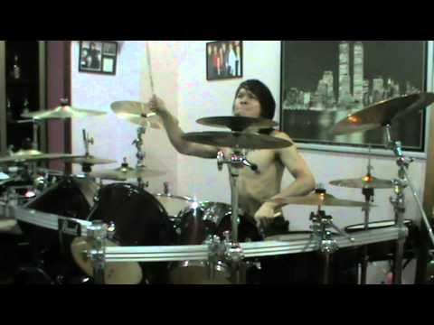famous Last Words-One In The Chamber drum cover (KingZ AngeL)