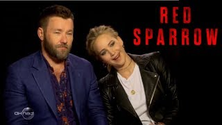 Joel Edgerton Calls Jennifer Lawrence the Best He's Ever Seen Without Clothes