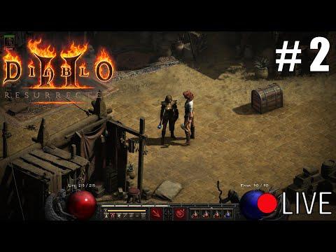 Diablo 2 Resurrected - First Gameplay Livestream Part 2