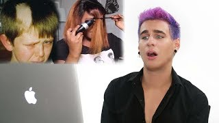 HAIRDRESSER REACTS TO CRAZY HAIR FAILS! | bradmondo