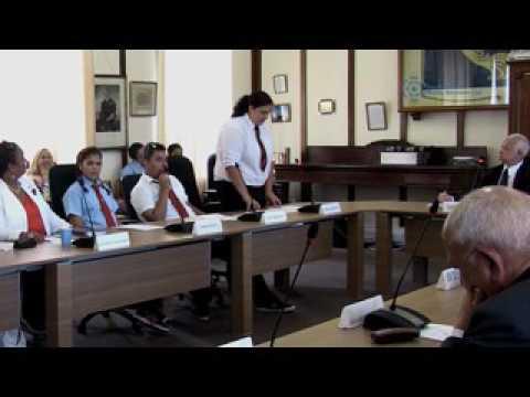 Commonwealth Day Debate 2017 - St Helena Island
