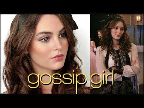 "blair waldorf ""gossip girl"" makeup & hair tutorial"
