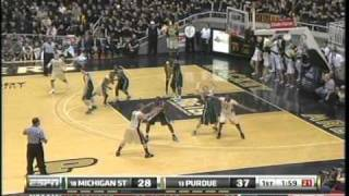 BB: Purdue vs Michigan State 2011