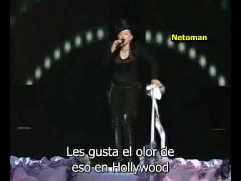 Madona, Britney Spears, Cristina Aguilera, Missy eliot - Like a virgin/Hollywood VMA 2003 español