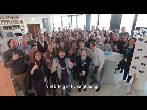 thyssenkrupp grüßt Rodler-Team Eggert&Benecken #tkgoesPyeongChang