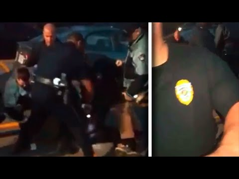 Cops Brutally Taze Protester, Then Turn On The Man Filming It