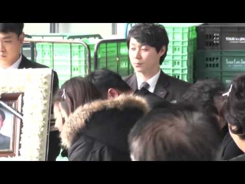 [TVDaily] 140108 Leeteuk's Father & Grandparents' Funeral