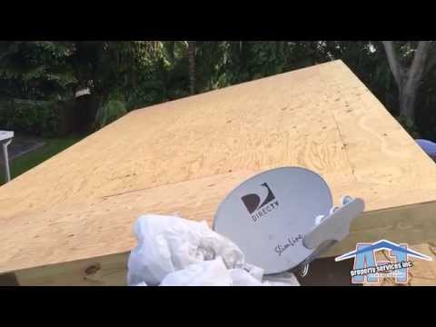 GAF TPO Freedom - Miami Roofing - Before - Part 1 of 2