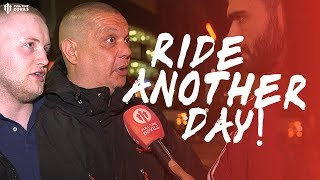 WE RIDE ANOTHER DAY! Man Utd 0-2 Man City Fan Cam