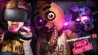 GUYS.. THERE'S AN ANIMATRONIC IN THE VENTS WITH US. || FNAF VR: Help Wanted (Part 2)