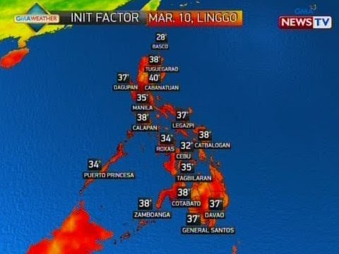 NTVL: Weather update as of 5:18 p.m. (March 9, 2019)