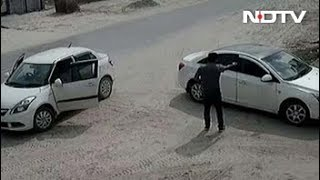Caught On Camera: Businessman Shot Dead Outside Mill In Punjab