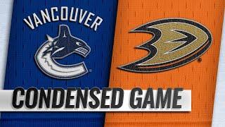 02/13/19 Condensed Game: Canucks @ Ducks