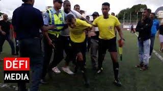 ASPL 2000 perd le titre, l'arbitre et ses assistants escortés par la police