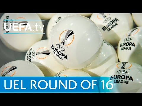 Watch the full UEFA Europa League round of 16 draw