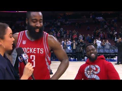 Kevin Hart Trolling NBA Players